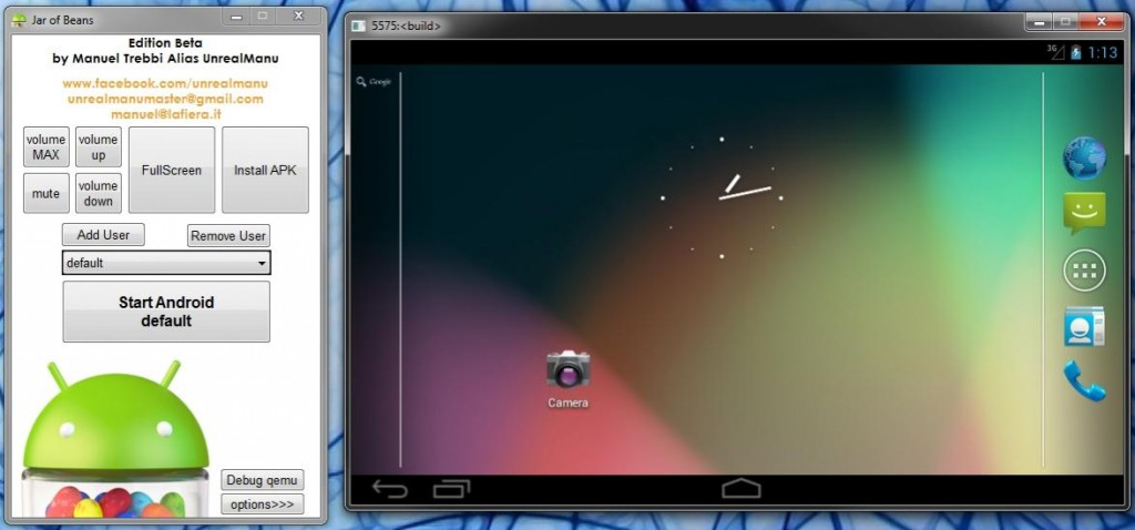 android phone emulator  windows