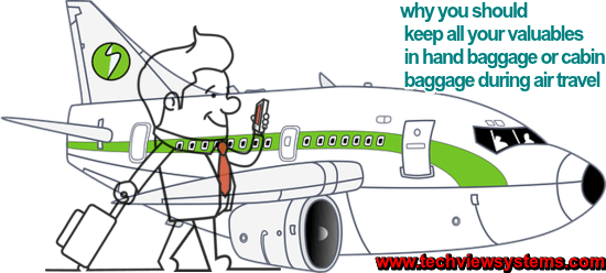 why you should all your valuables in hand baggage