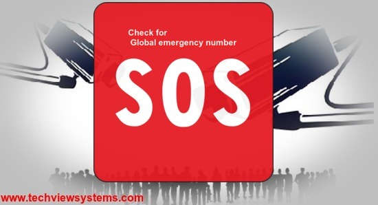 Check for global emergency number