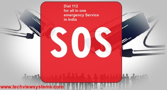 Dial 112 for all emergency Service in India