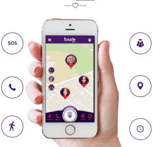 bSafe App, Women Safety App