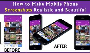 How to Make Photorealistic Screenshots of Your Mobile Phone