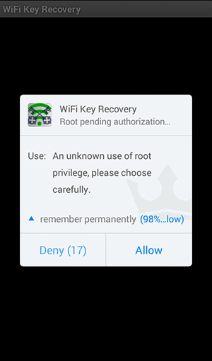 Recover WiFi Passwords Using Your Android Device