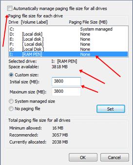 Virtual Ram Concept For Windows
