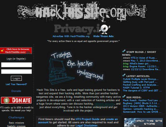 Hack This Site