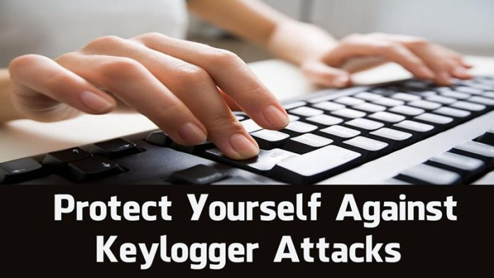 Encrypting Keys To Protect From Keyloggers