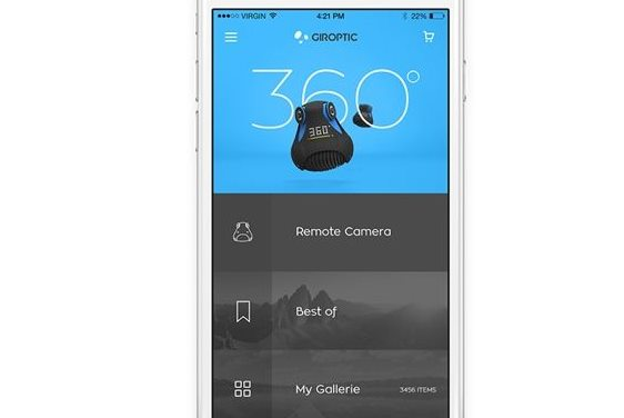 Take 360 degree videos on iPhone