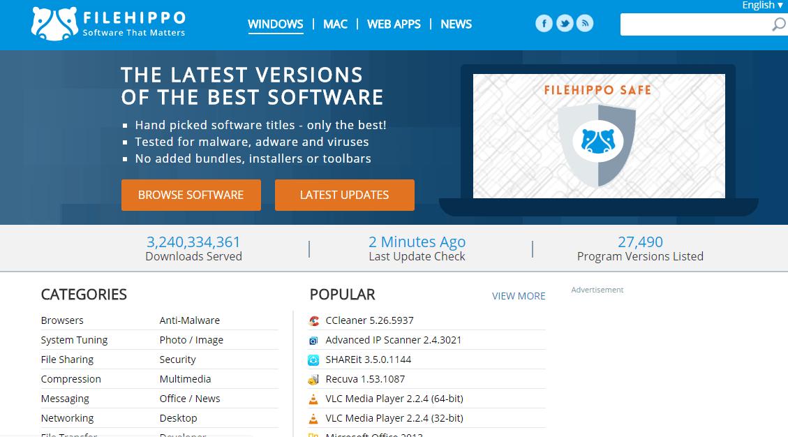 Websites for Downloading Software