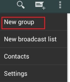 envoyer un message à quelqu'un sur WhatsApp qui vous a bloqué