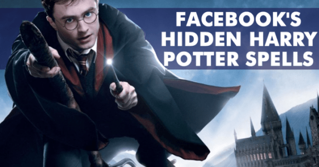 How To Activate Facebook's Hidden Harry Potter Spells