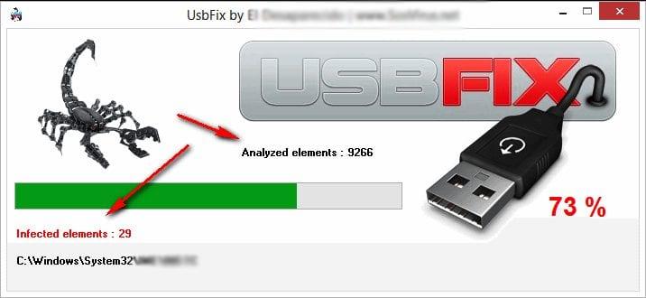 Using USB Fix Software