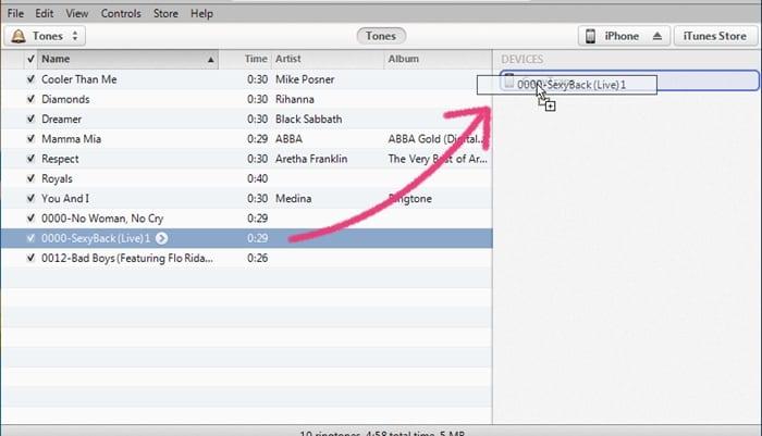 Add Custom Ringtones to iPhone/iOS Device
