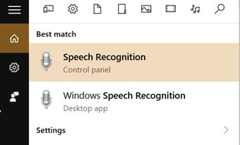 Convert Your Speech Into Text in Windows 10