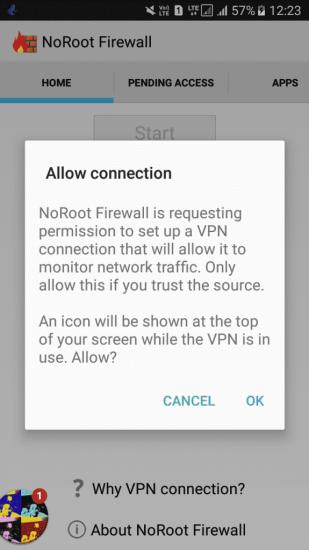 Using Firewall Apps
