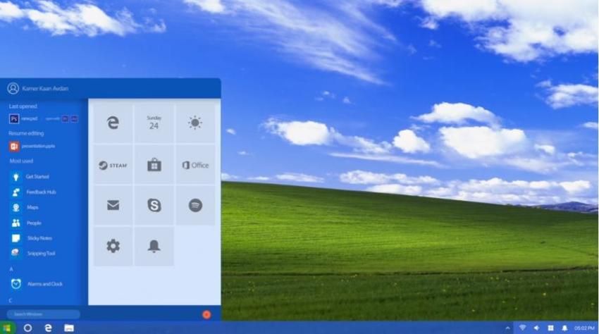 Meet The New Windows XP 2018 Edition