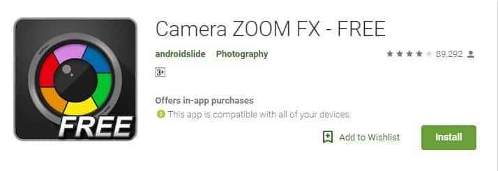 Caméra ZOOM FX