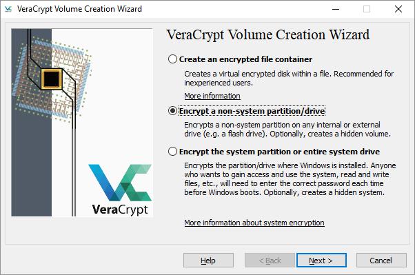 Utiliser VeraCrypt