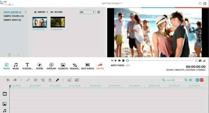 Using Wondershare Filmora