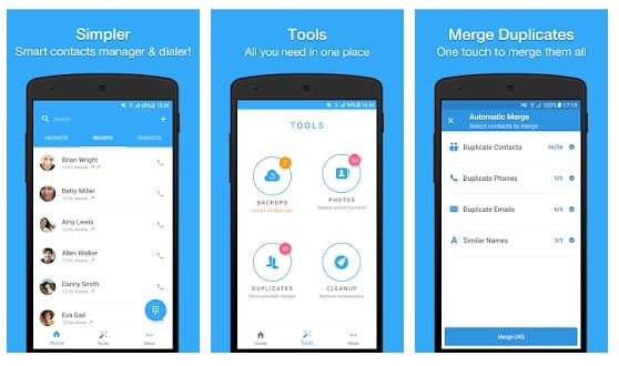 contact manager apps