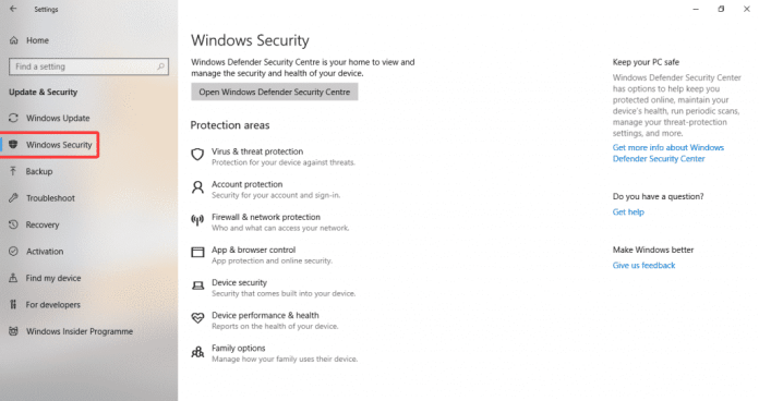 Win 6 1024x541 - How To Disable Windows Defender Notifications On Windows 10