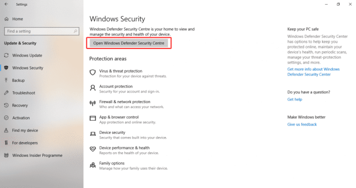 Win 7 1024x541 - How To Disable Windows Defender Notifications On Windows 10