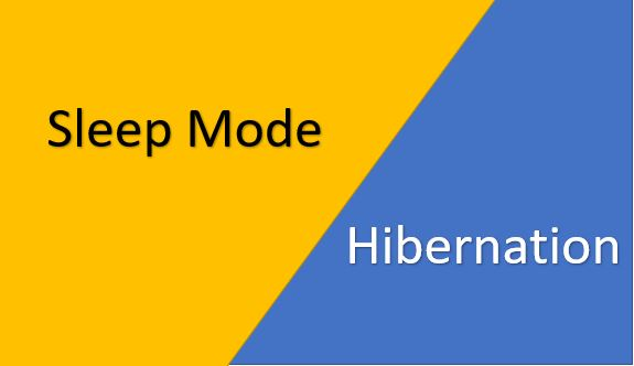SH 1 - What Is The Difference Between Sleep Mode And Hibernate?