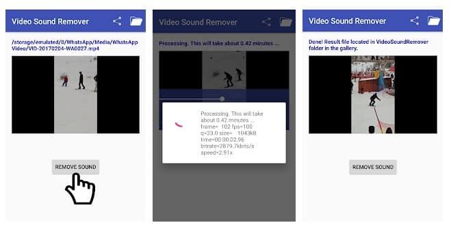 Video Sound Remover