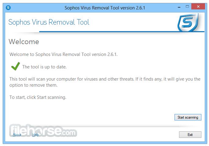 Penghapusan Sophos Malware