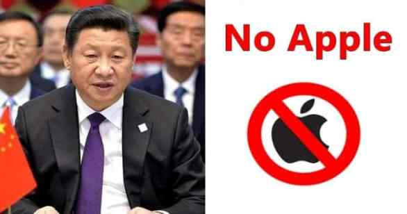 In a War of Huawei, Chinese Govt Is Now Banning Apple Products In China