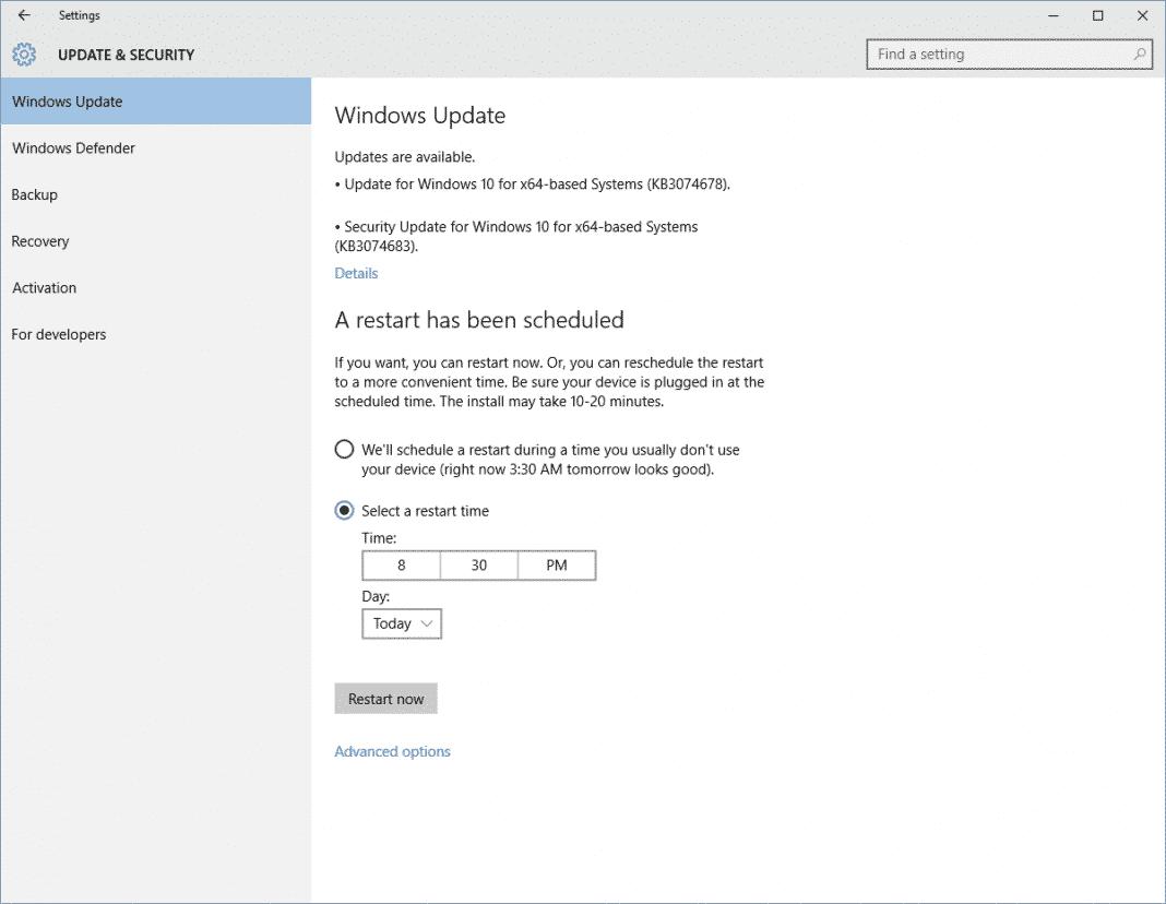 Update Your Windows 10 Computer
