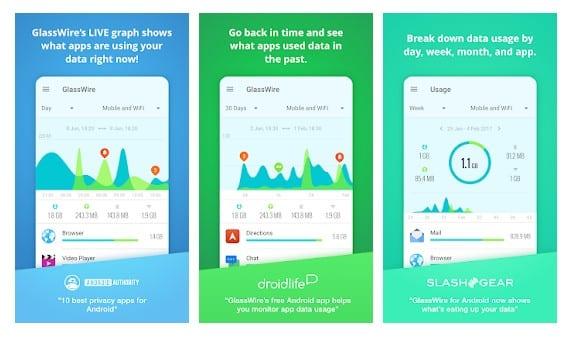 GlassWire Data Usage Monitor