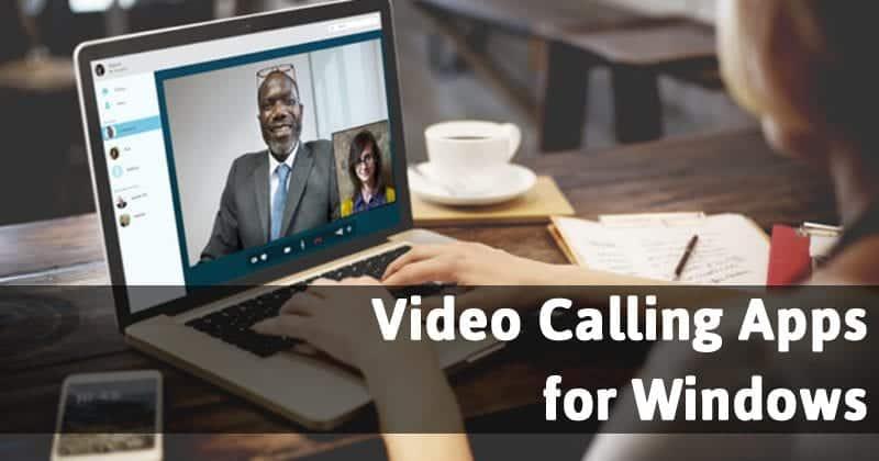 Insta :  20 meilleures applications d'appel vidéo gratuites pour PC Windows en 2020