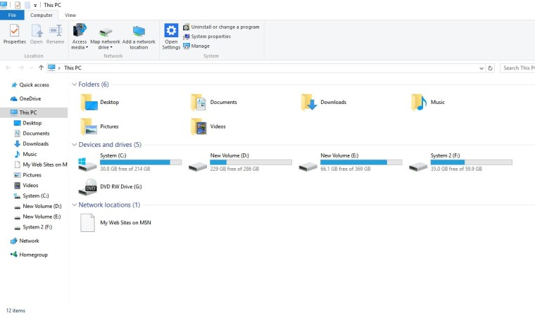 open File Explorer.