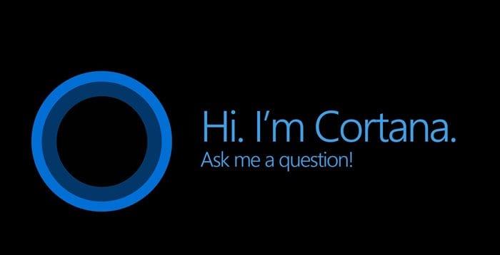 Fitur Cortana