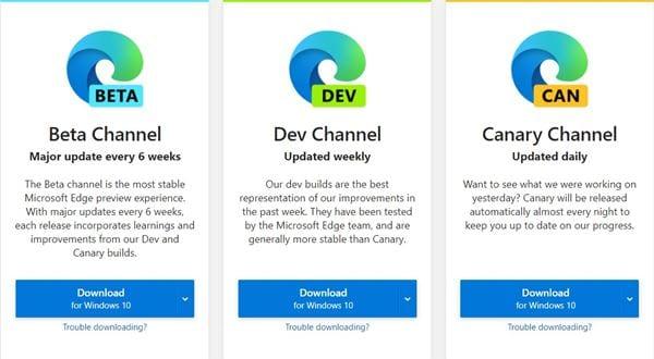 Penginstal Microsoft Edge (Online)