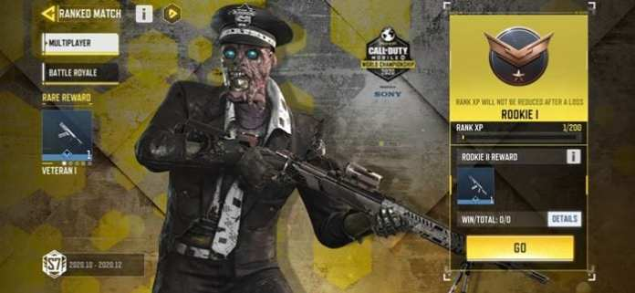 climb up the rank tiers to earn free gun skins and other rewards