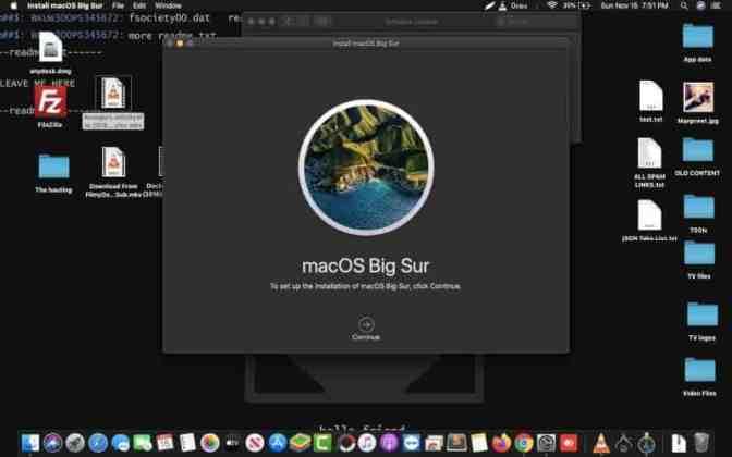 macOS Big Sur OS