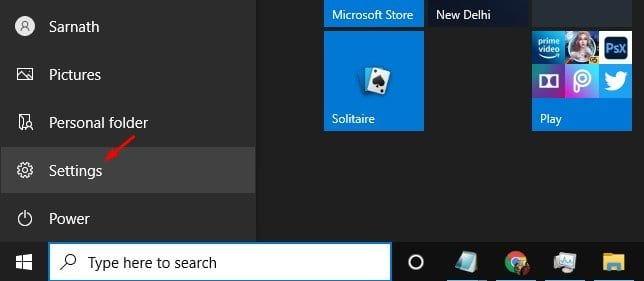 Cara Menambahkan Icon ke Menu Start Windows 10