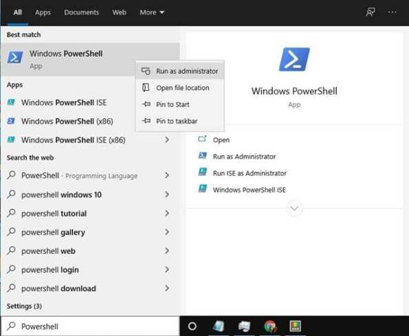 Menghapus Partisi Drive di Windows 10