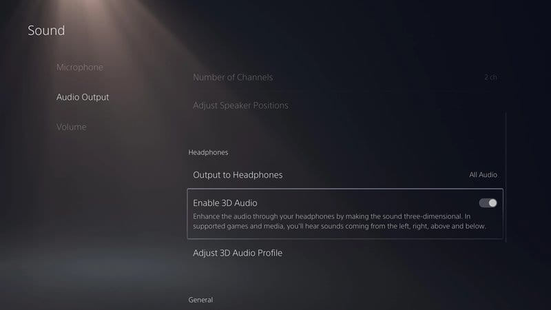 Enable 3D Audio on Headphones