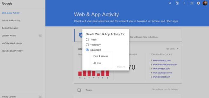 Web App Activity