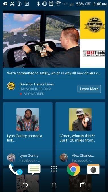 Get Rid of BlinkFeed