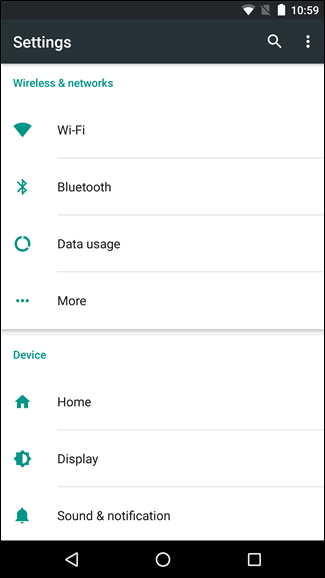 Android Wireless Networks