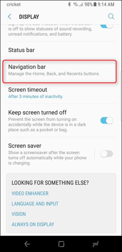 How to Customize the Bottom Navigation Bar on the Galaxy S8