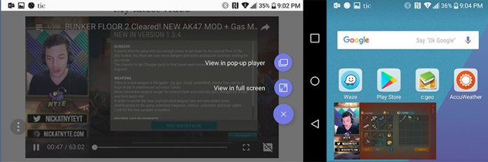 Videos on the Samsung Internet Browser