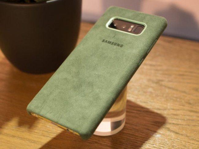 Samsung Alcantara Galaxy Note 8 case