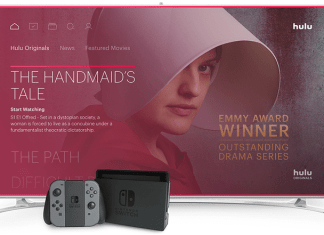 Hulu will be the first streaming service available on Nintendo Switch