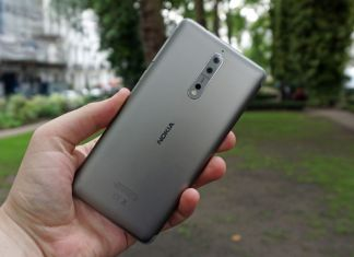 Nokia 9 render shows bezel-less display and dual front-facing cameras