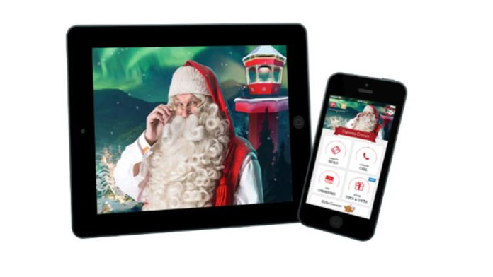 how to make christmas video on iPhone