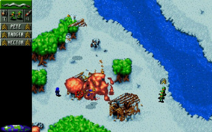 How to use GOG.com to play retro games on Mac: Cannon Fodder